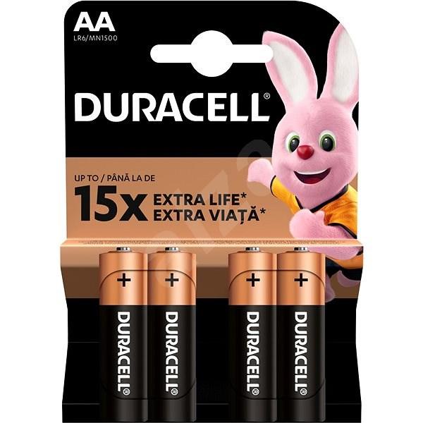 Duracell StayCharged AA - 2400 mAh 4 ks - Nabíjecí baterie