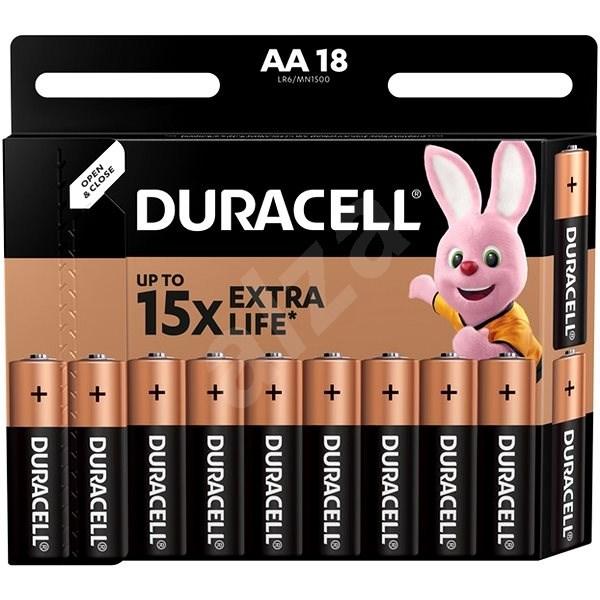 Duracell Basic AA 18 ks - Jednorázová baterie