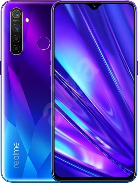 Realme 5 PRO DualSIM 4+128GB modrá - Mobilní telefon