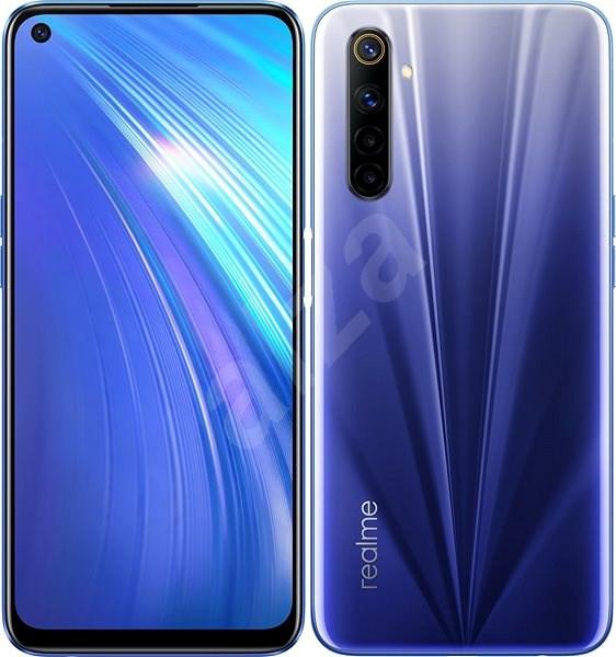 Realme 6 Dual SIM 128GB modrá - Mobilní telefon