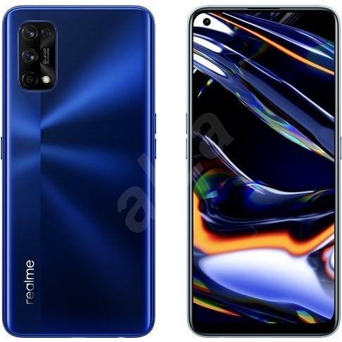 Realme 7 Pro Dual SIM 8+128GB modrá - Mobilní telefon