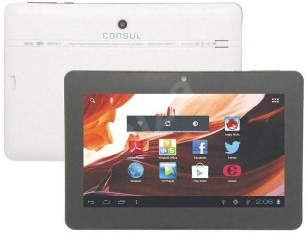 Emgeton Consul 4 8GB White - Tablet