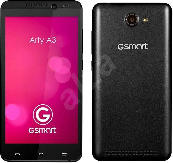 GIGABYTE GSmart Arty A3 černý Dual SIM - Mobilní telefon