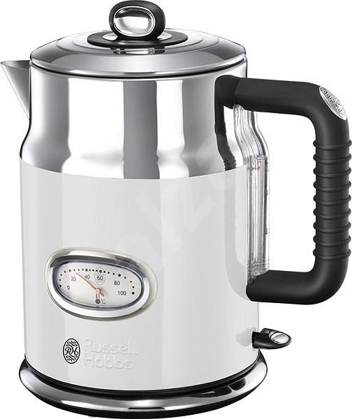 Russell Hobbs 21674-70 Retro Kettle White - Rapid Boil Kettle