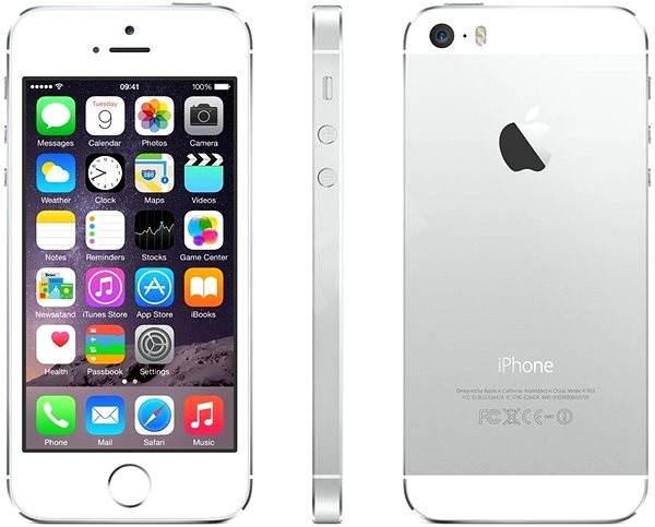 iPhone 5S 16GB (Silver) stříbrný - Mobilní telefon  e14f7b26efa