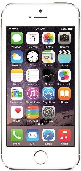 iPhone 5S 32GB (Silver) stříbrný - Mobilní telefon  7d12be73cac