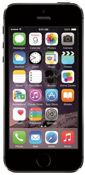 iPhone 5S 64GB (Space Grey) černo-šedý - Mobilní telefon