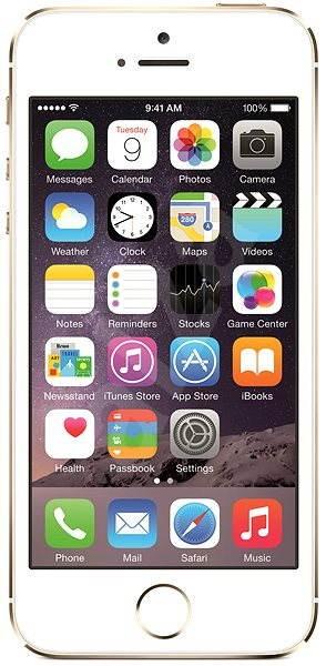 iPhone 5S 64GB (Gold) zlatý - Mobilní telefon