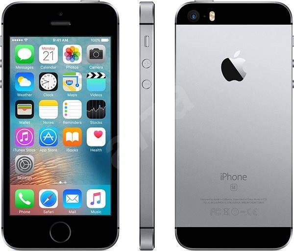 iPhone SE 32GB Vesmírně šedý - Mobilní telefon  4bbe752c9d2