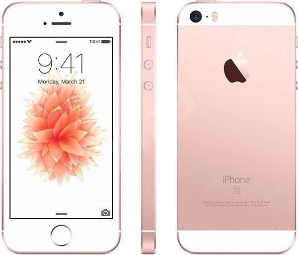iPhone SE 32GB Růžově zlatý - Mobilní telefon  50cb24114f2