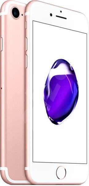iPhone 7 128GB Růžově zlatý - Mobilní telefon