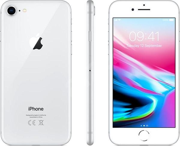 iPhone 8 64GB Stříbrný - Mobilní telefon  0d09785b75d