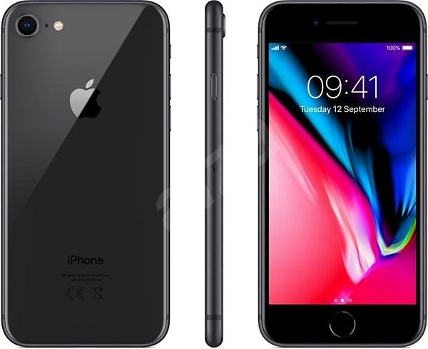 iPhone 8 128GB vesmírně šedá - Mobilní telefon