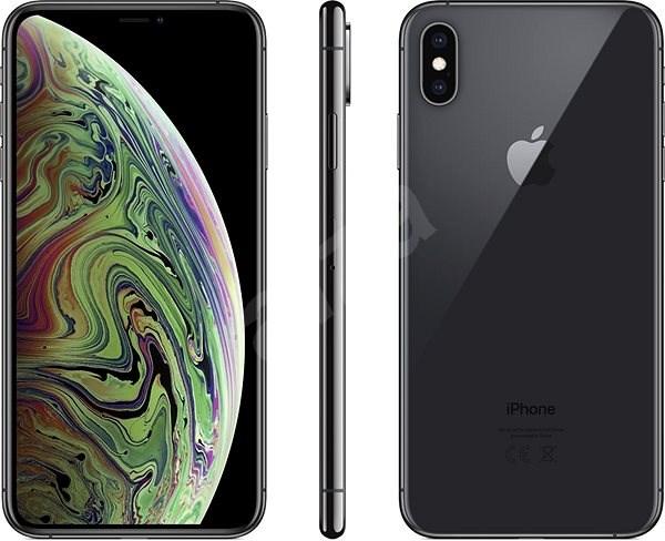 iPhone Xs Max 64GB vesmírně šedá - Mobilní telefon