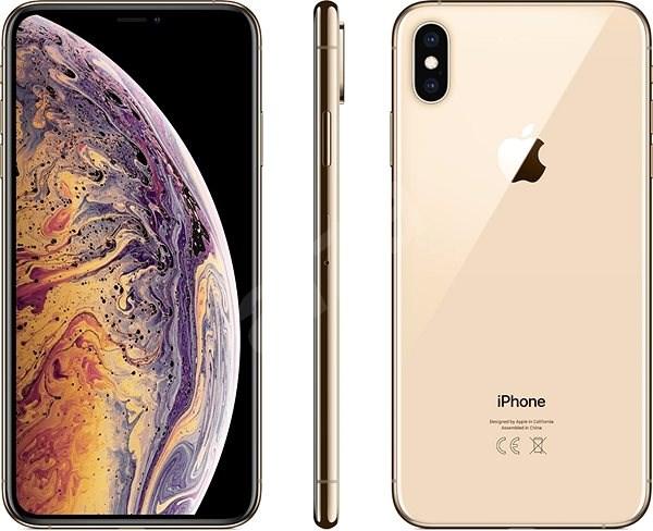 iPhone Xs Max 64GB zlatá - Mobilní telefon