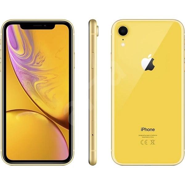 iPhone Xr 128GB žlutá - Mobilní telefon