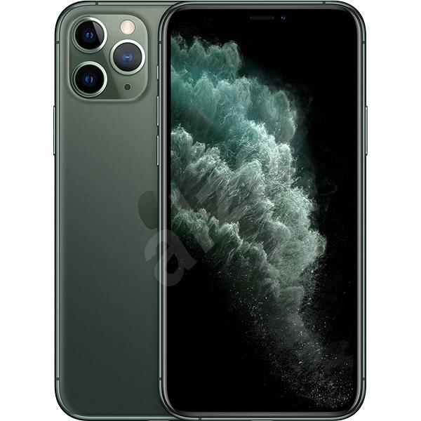 iPhone 11 Pro 64GB  půlnoční zelená - Mobilní telefon