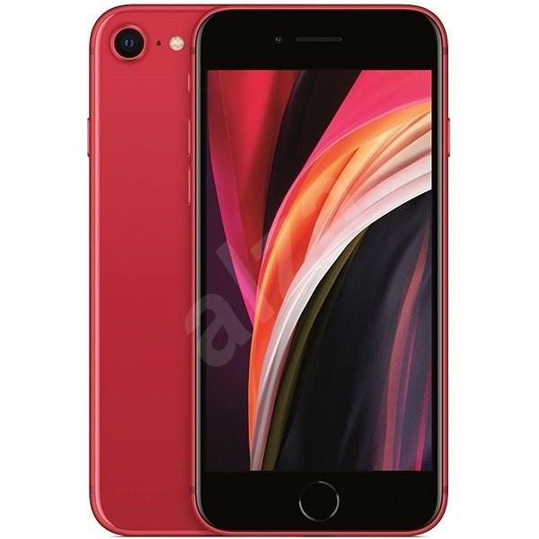 iPhone SE 256GB červená 2020 - Mobilní telefon