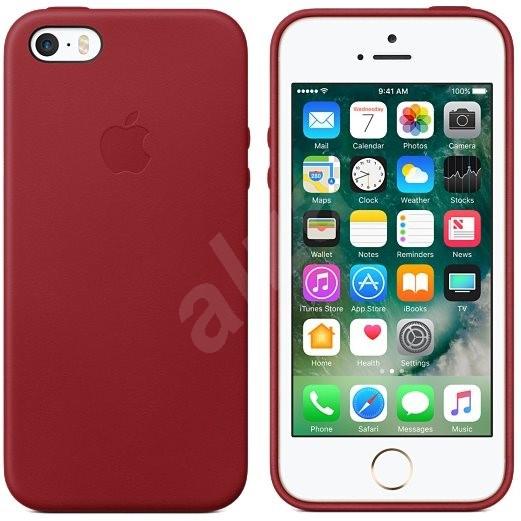 Apple iPhone SE kryt červený - Kryt na mobil  3da221ce646