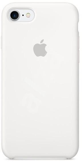 iPhone 7 Silikonový kryt bílý - Ochranný kryt  ffb9b7a35f7