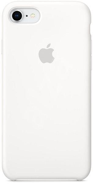 iPhone 8 7 Silikonový kryt bílý - Kryt na mobil  388f377b95a