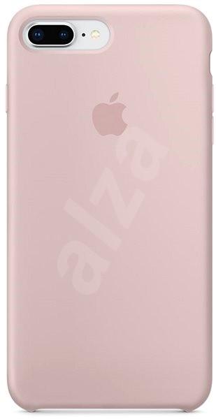 iPhone 8 Plus 7 Plus Silikonový kryt pískově růžový - Kryt na mobil ... ff5a8952baf