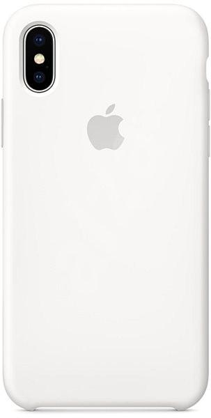 iPhone X Silikonový kryt bílý - Kryt na mobil  344533cea26