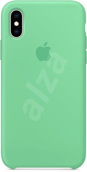 iPhone XS Silikonový kryt mátový - Kryt na mobil