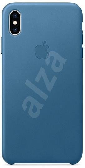 iPhone XS Kožený kryt modrošedý - Kryt na mobil  16a99bd3a0c