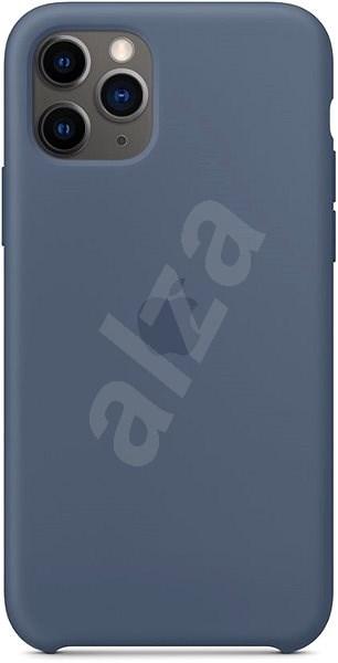 Apple iPhone 11 Pro Silikonový kryt seversky modrý - Kryt na mobil
