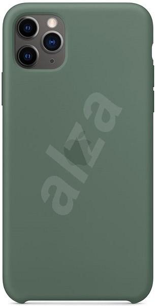 Apple iPhone 11 Pro Max Silikonový kryt piniově zelený - Kryt na mobil