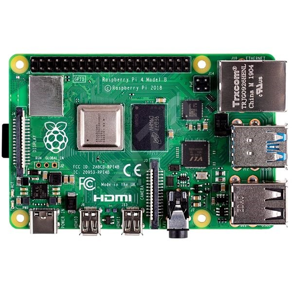 Raspberry Pi 4 Model B - 4GB RAM - Mini počítač