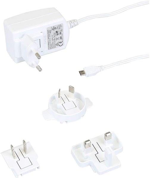 RASPBERRY Pi 2.5A bílý - Napájecí adaptér