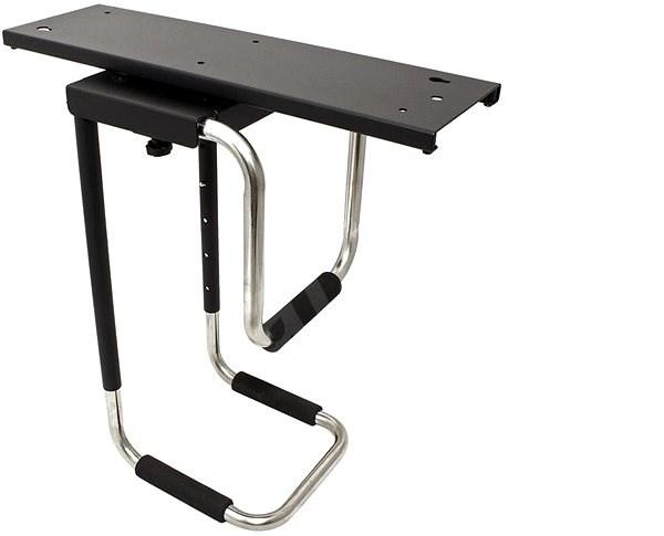 OEM Držák PC pod desku stolu, otočný, černý, do 30kg - Držák na PC