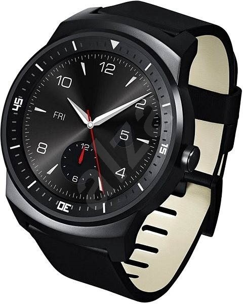 LG G Watch R (W110) Black - Chytré hodinky