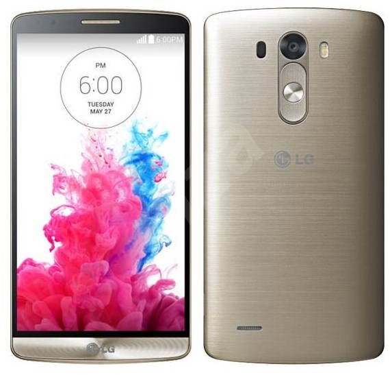 LG G3 (D855) Shine Gold 32GB - Mobilní telefon  391cfa01970