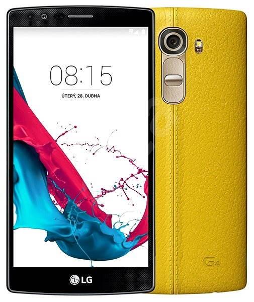 LG G4 (H815) Leather Yellow - Mobilní telefon