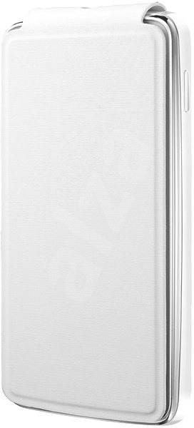 ALCATEL ONE TOUCH S´POP Flip Cover White - Pouzdro na mobilní telefon