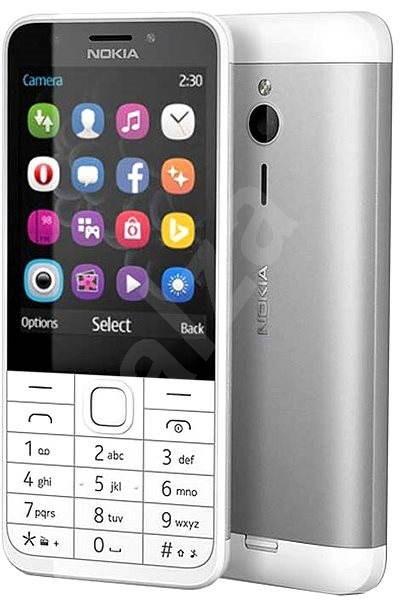 Nokia 230 Light Silver - Mobilní telefon