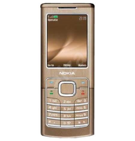 Nokia 6500 Classic bronzový - Mobilní telefon