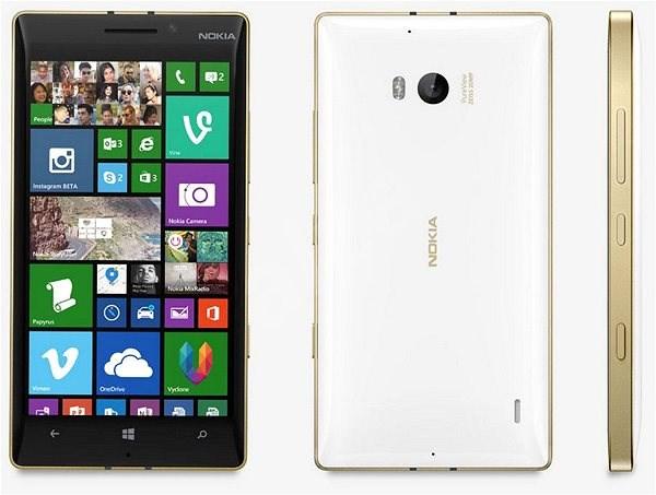 Nokia Lumia 930 white gold - Mobilní telefon