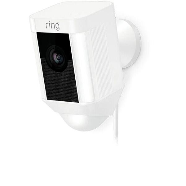 Ring Spotlight Cam Wired White - IP kamera