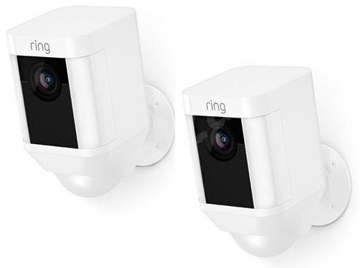 Ring Spotlight Cam Battery White Duo pack - IP kamera