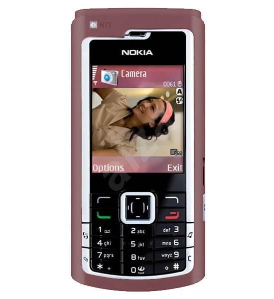 GSM mobilní telefon Nokia N72 vínový - Mobilní telefon