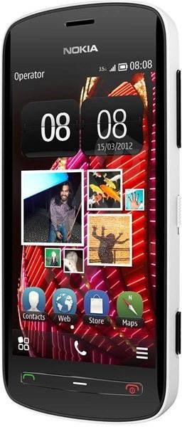 Nokia 808 PureView White - Mobilní telefon