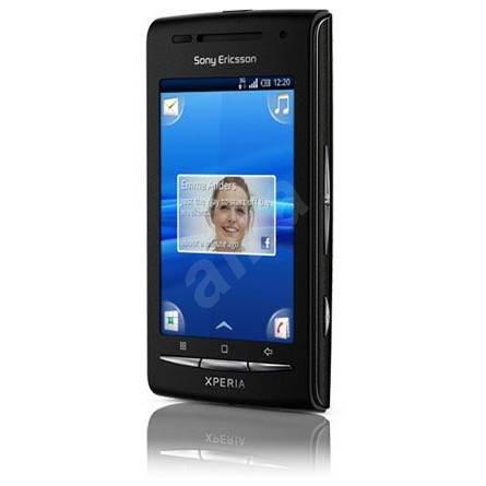 Sony Ericsson Xperia X8 (E15) Black Grey - Mobilní telefon
