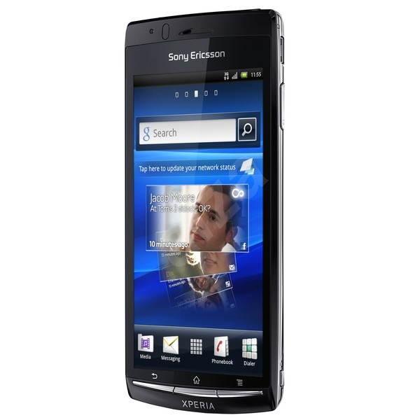 Sony Ericsson Xperia ARC S (LT18i) Gloss Black - Mobilní telefon
