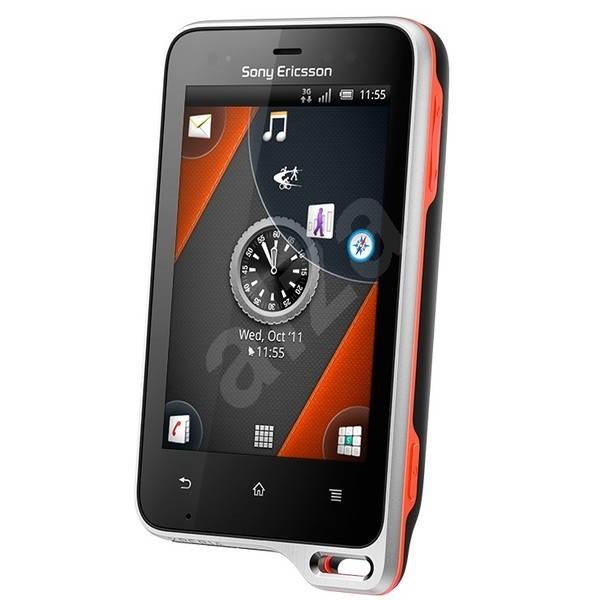 Sony Ericsson Xperia Active (ST17i) Black-Red-Orange - Mobilní telefon
