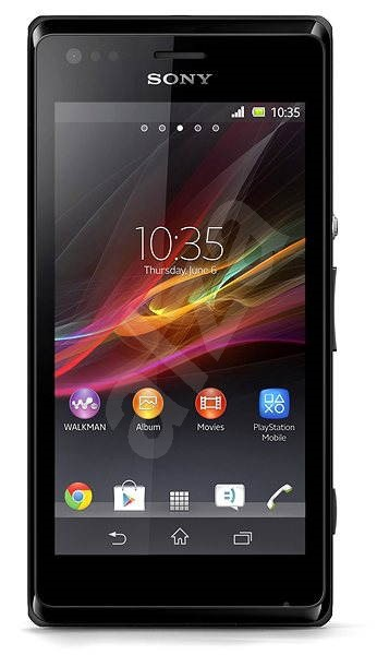 Sony Xperia M (C1905) Black - Mobilní telefon