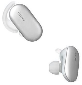 Sony WF-SP900 bílá - Sluchátka s mikrofonem